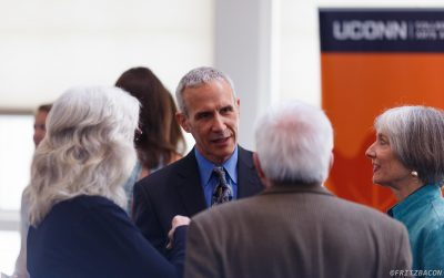 Martin Horn at the 2016 Communication Commencement Reception. (Photo by Francis Gilbert)