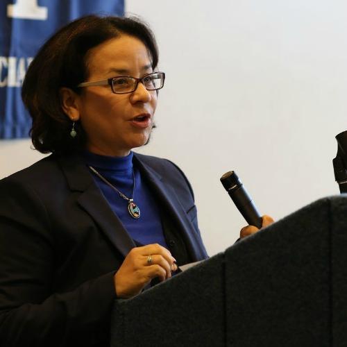 photo of Diana Rios, associate professor