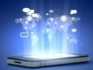 iPhone communication illustration