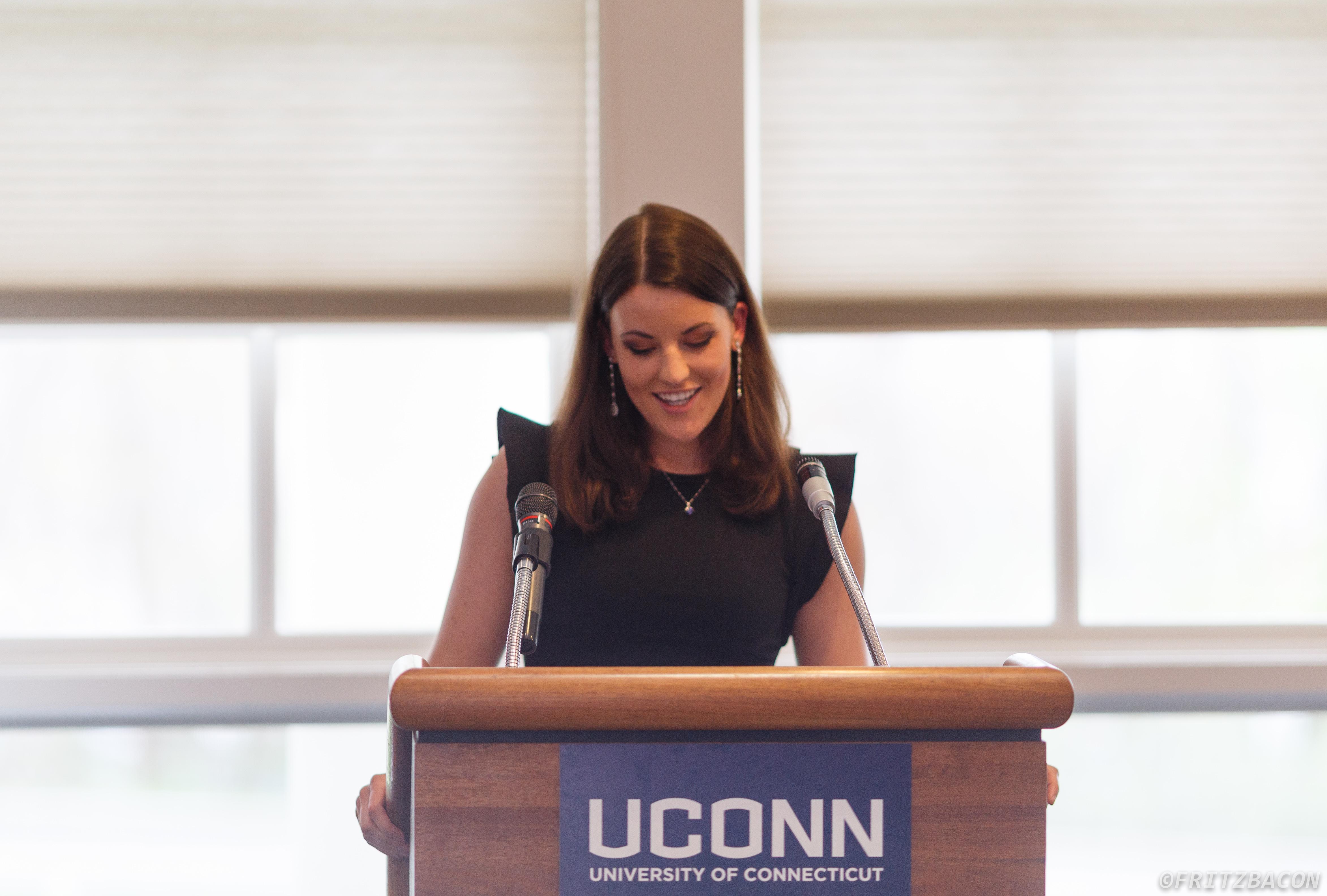 Communication graduate, Brooke Hirsheimer