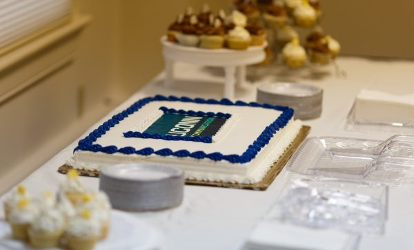 Cake at Commencement Reception