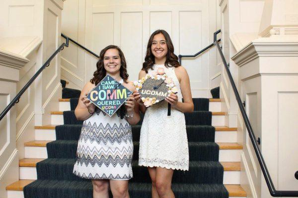 Two graduating seniors