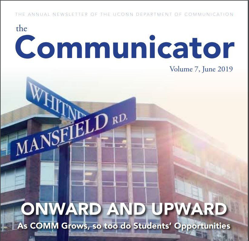 A photo of the Communicator Newsletter, Volume 7